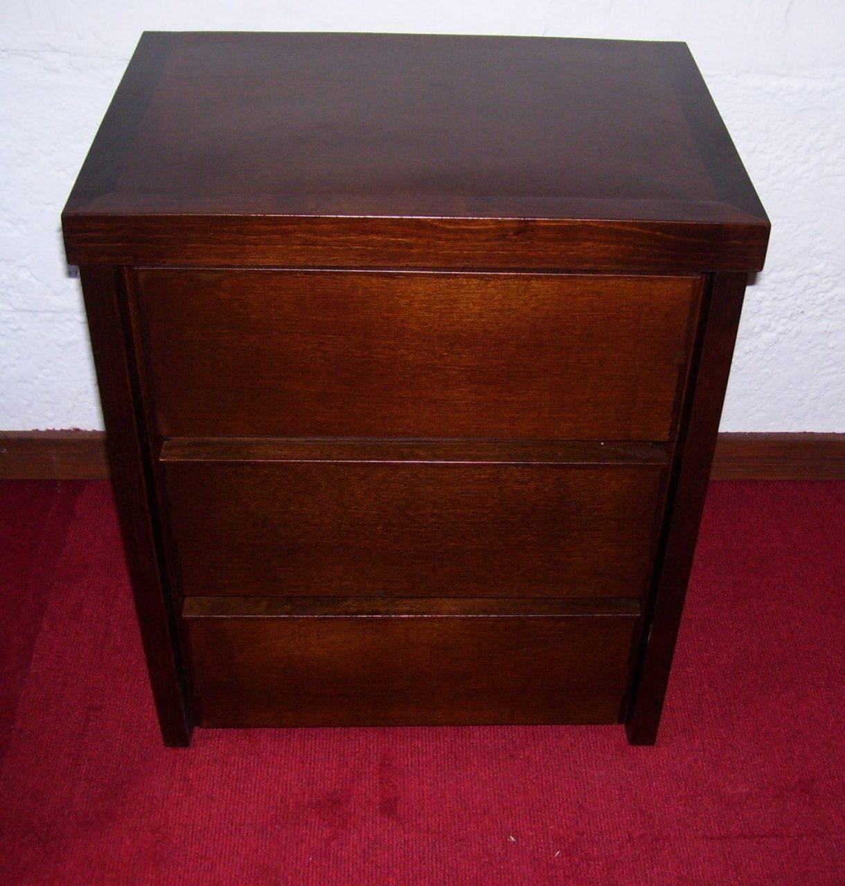 Mesas de luz en madera a medida omb muebles uruguay - Muebles de madera a medida ...