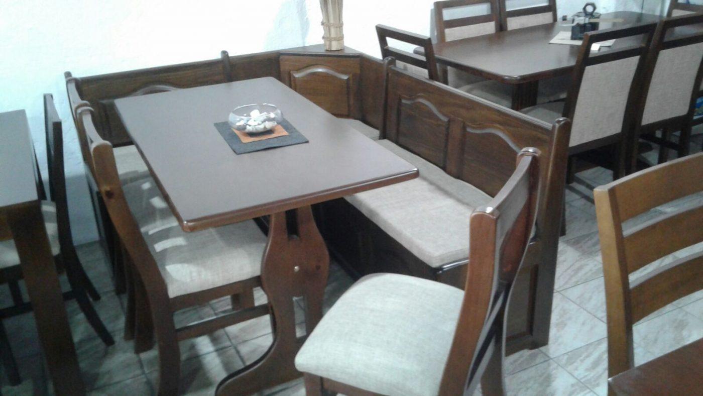 Comedor Esquinero en Madera a Medida - Ombú Muebles Uruguay