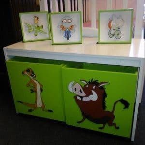 Categor a rinc n infantil a medida compr online en omb for Muebles importados uruguay